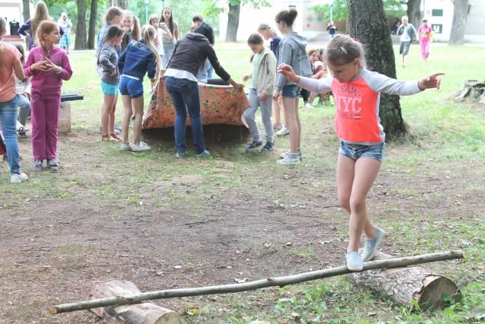 спорт, лагерь, лето, дети