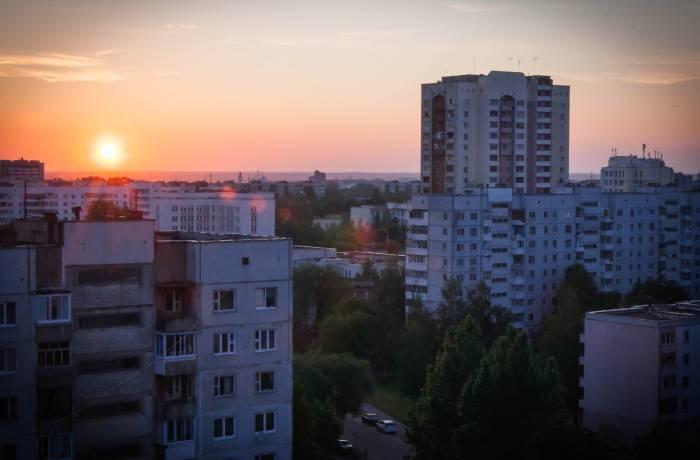 Закат на крыше обладает особой притягательностью. Фото Анастасии Вереск