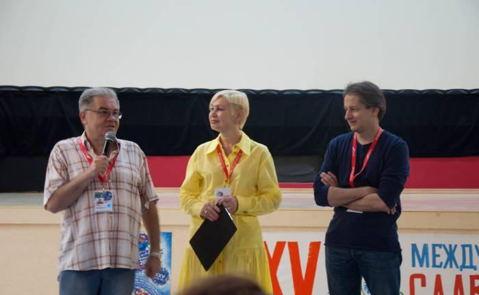 Слово генерального директора гильдии режиссеров России Игоря Степанова. Фото Анастасии Вереск