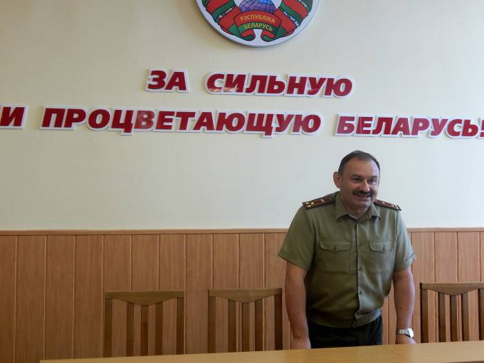 Александр Бородий, военный комиссариат
