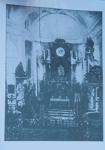 Внутреннее убранство церкви святого Михаила. Фото Анастасии Вереск