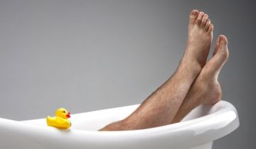 бритые ноги