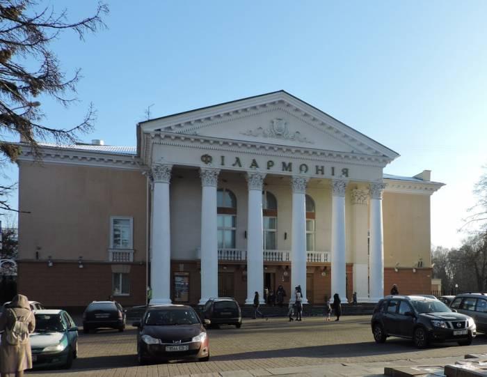 витебск, филармония, городской театр