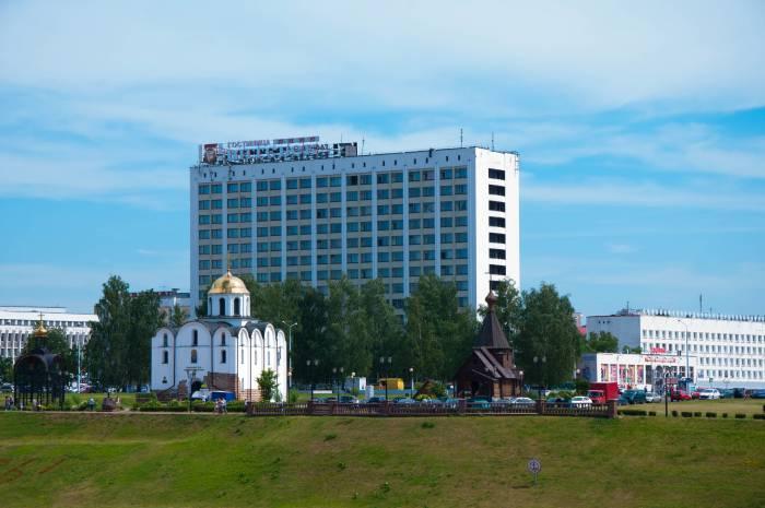 Вид н Благовещенскую церковь. Фото Анастасия Вереск