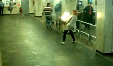 метро пожар
