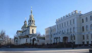 витебск, церковь святого духа, фотопроекция