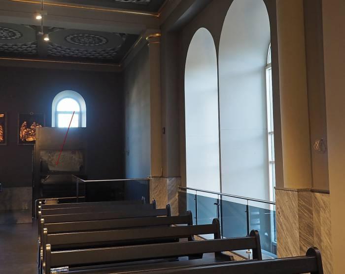 В витебском костеле установили социальный лифт. Фото Светланы Васильевой
