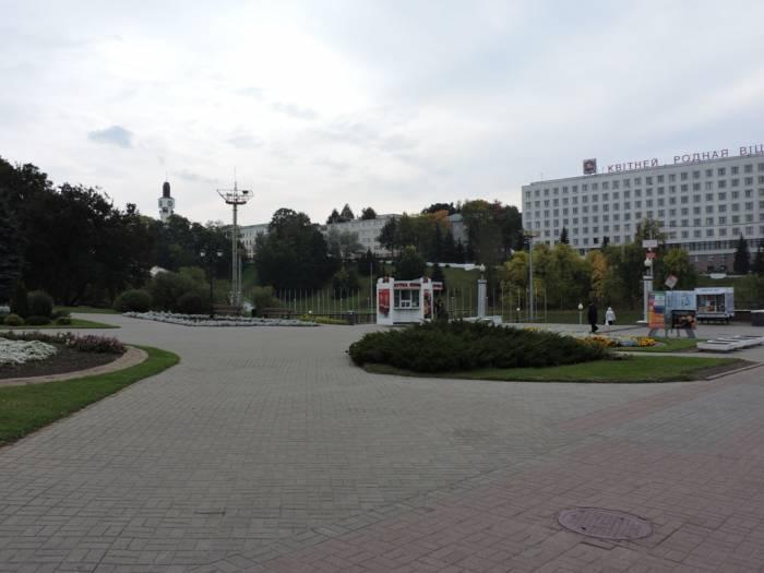 памятник Ольге, альтернативный проект, слепов