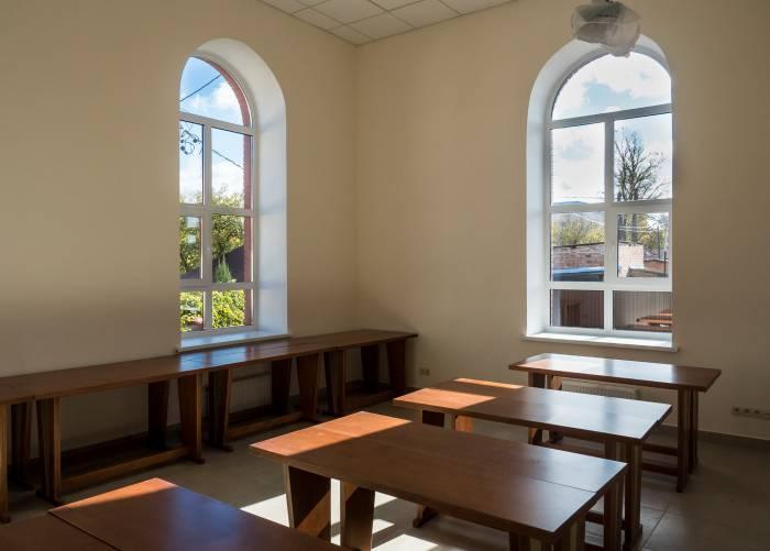 В синагоге имеется просторный учебный класс. Фото Светланы Васильевой