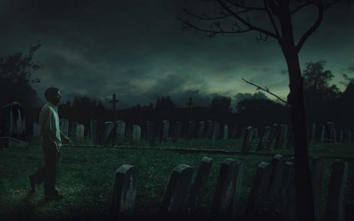 кладбище, Хэллоуин, Корженевский