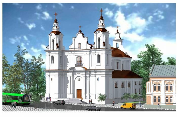 Как будет выглядеть новый костел в Витебске