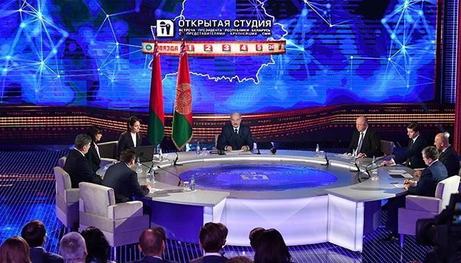 Лукашенко БелТА