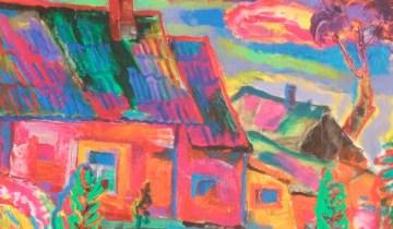 Фрагмент картины Освальда Звейсалниекса