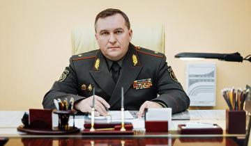 Виктор Хренин Министр обороны Беларуси