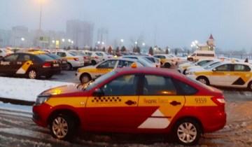 Забастовка таксистов Витебск