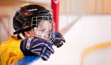 Ребенок хоккей