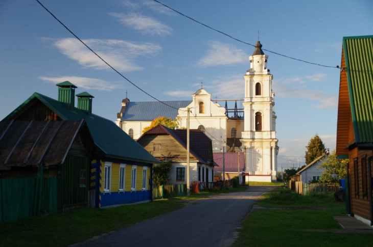Крышу костела в Будславе восстановили на 70% — фото