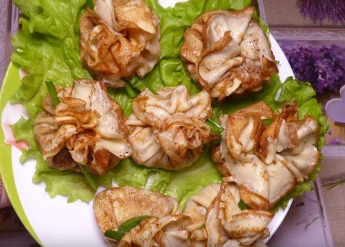 Ет, саңырауқұлақтар және ащы шөптер бар хош иісті құймаққа арналған рецепт