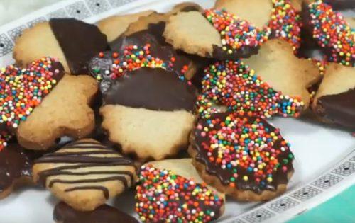 Самое вкусное печенье с миндалем, корицей и шоколадом