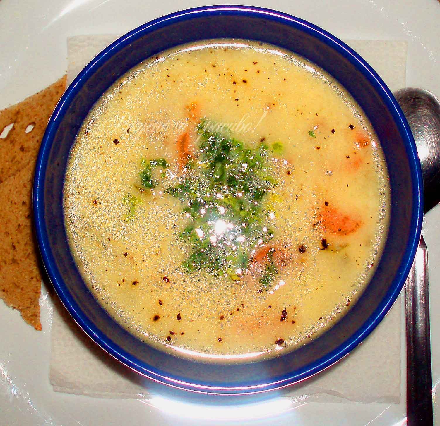 Куринный суп<>Пилешка супа