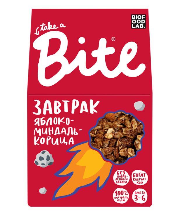 Гранола Bite Яблоко-Миндаль-Корица