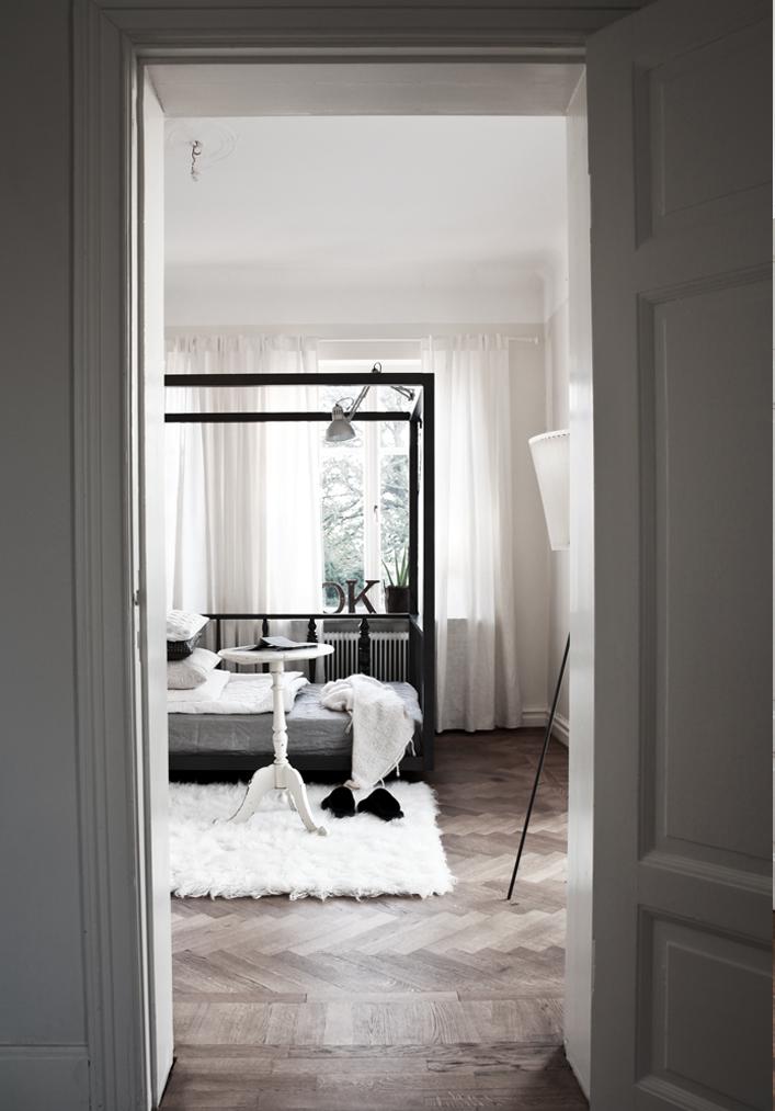 Classic Grey Bedroom