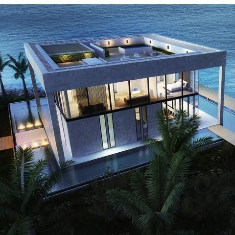 Sea Front Villa in Dubai