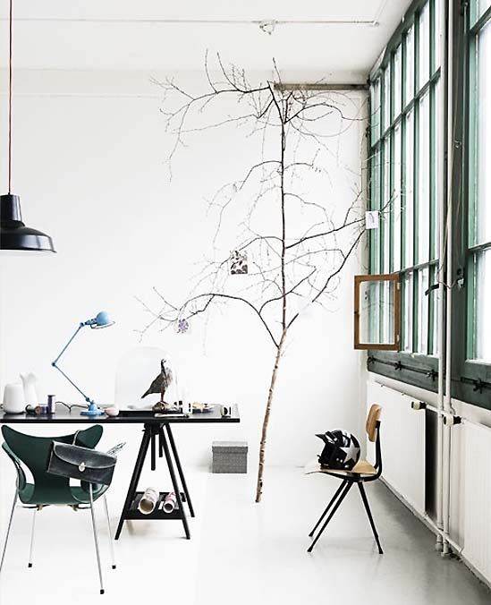 The Lily Chair via The Designer Pad