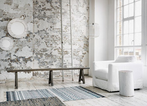 LET THERE BE WHITE - Loft living via Vosges Paris