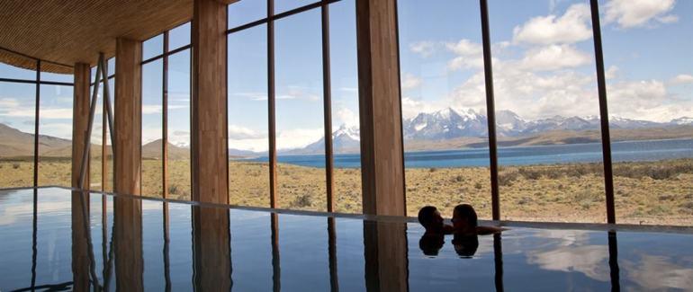 Hotel Tierra Patagonia Spa Area