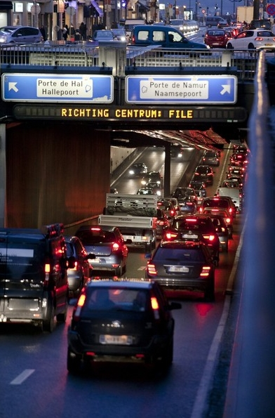 Sluiting Brusselse tunnels bij Europese top nefast voor mobiliteit in en rond Brussel