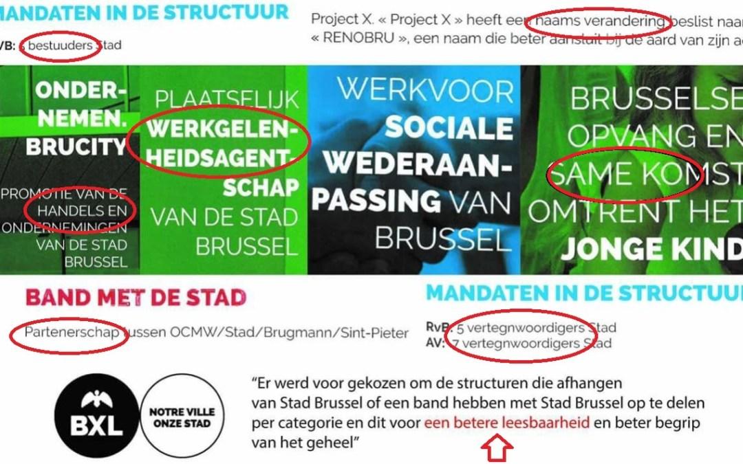 Stad Brussel en Nederlands: bedroevend, beschamend