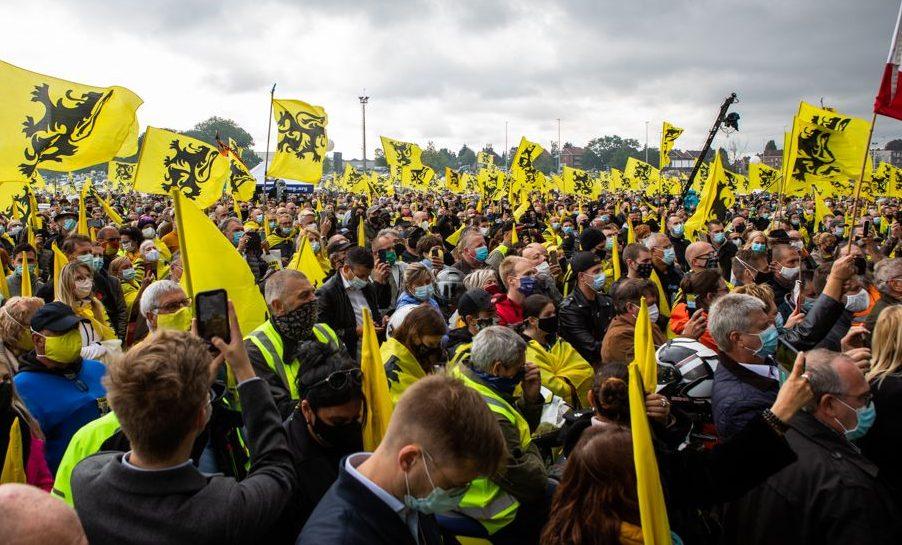Record: le Vlaams Belang dépasse les 22.000 membres et progresse de près de 20%