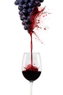 rodewijnglas