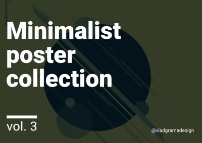 Minimalist poster collection – Experiments Vol. 3