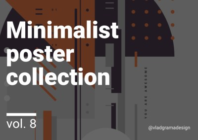 Minimalist poster collection – Experiments Vol. 8