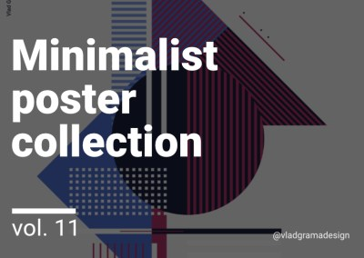 Minimalist poster collection – Experiments Vol. 11