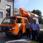 Општина Владимирци обезбедила куповину хидрауличне платформе за одржавање уличне расвете