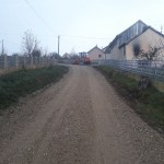 Припрема пред асфалтирање улице у Прову