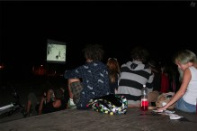 Vladimir 2011 screenings at the skate park