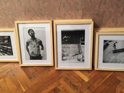Work in progress - Frames for the exhibition (Henry Kingsford)