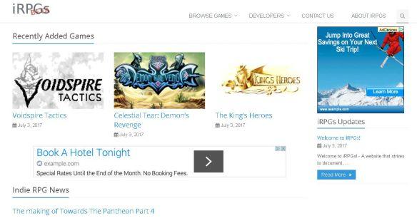 iRPGs screenshot