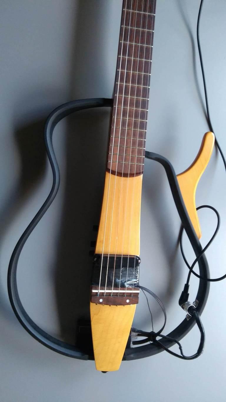 Hex pickup guitar
