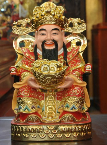 30cm-God-of-wealth-Wen-cai-shen-ye-Feng-Shui-Decoration-company-Opening-gifts-Resin-Buddha