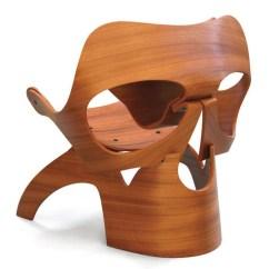 Wooden Skull Chair Eames Frasier
