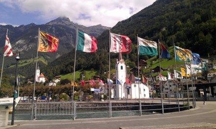 Fluelen, Zwitserland. Foto: Davied van Berlo