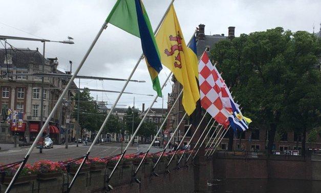 Wat is de juiste volgorde van provincievlaggen?