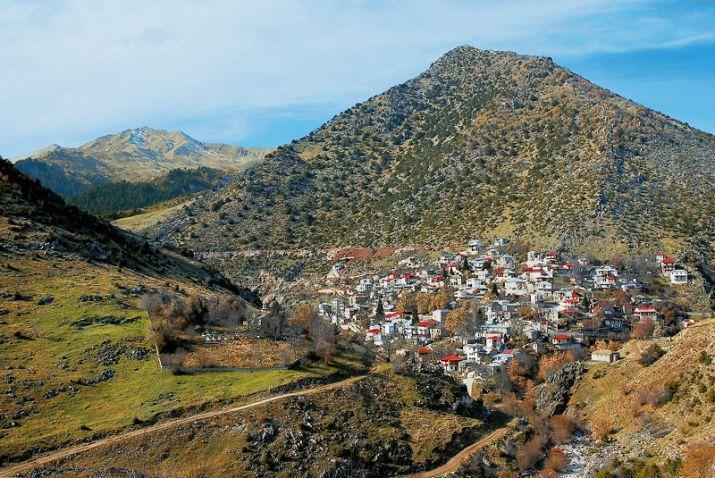 Το χωριό Χαλίκι είναι το βορειότερο από τα χωριά του Ασπροπόταμου