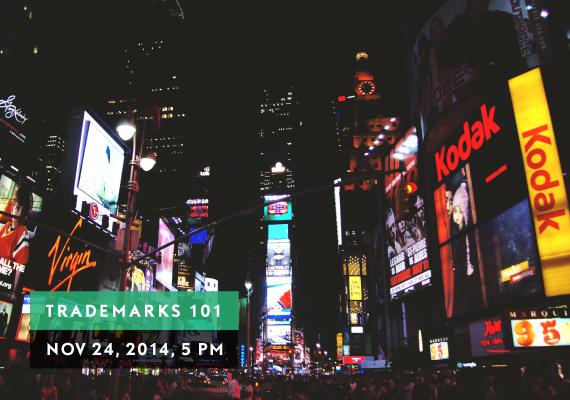 TRADEMARKS 101, NOV 24, 2014