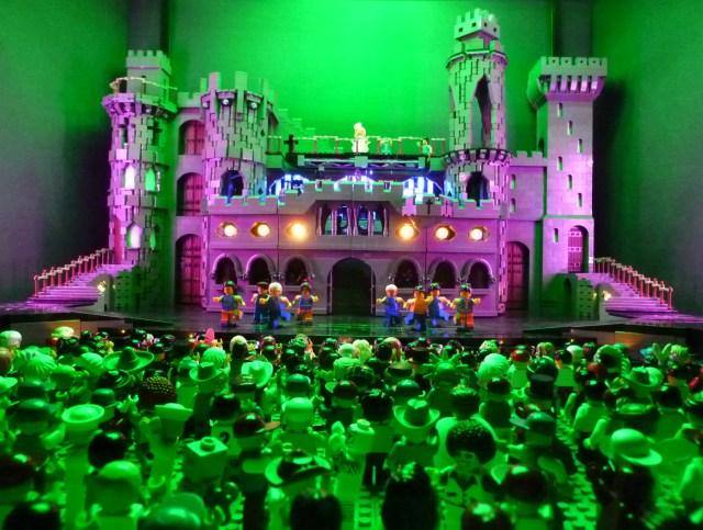 Lego Lady Gaga Castle